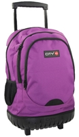 Εικόνα της ΤΣΑΝΤΑ CITY ROCK N ROLL 95647 GRAPE VIOLET TROLEY