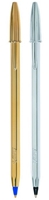 Εικόνα της ΣΤΥΛΟ BIC  CRISTAL SHINE M GOLD & SILVER 1,0mm