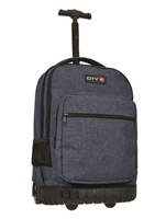 Εικόνα της ΤΣΑΝΤΑ CITY FROLLEY 11553 MELANGE BLUE TROLLEY