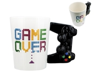 Εικόνα της ΚΟΥΠΑ TOTAL GIFT CERAMIC MUGS XL0991 GAME OVER