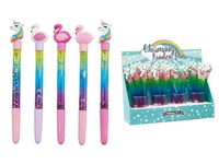 Εικόνα της ΣΤΥΛΟ TOTAL GIFT XL1473 UNICORN GLITTER PEN 21cm