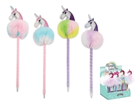 Εικόνα της ΣΤΥΛΟ TOTAL GIFT XL1004 UNICORN POM-POMS PEN